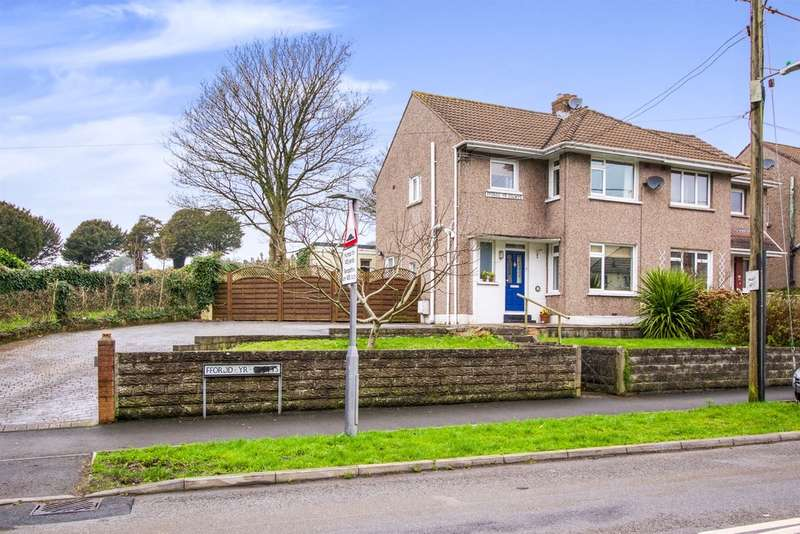 3 Bedrooms Semi Detached House for sale in Ffordd Yr Eglwys, North Cornelly, Bridgend