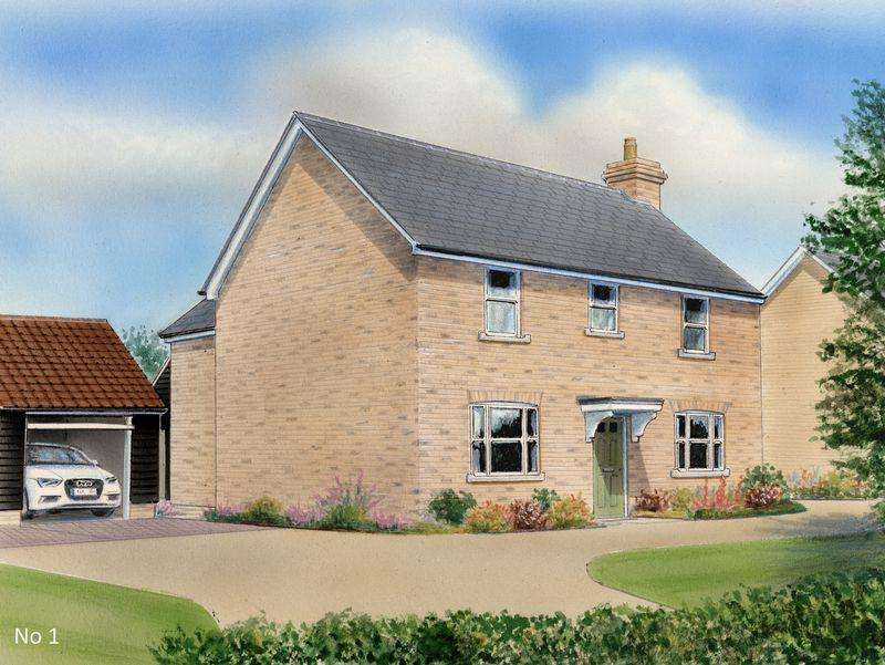 4 Bedrooms Detached House for sale in 2 Hamilton Gardens, Fordham