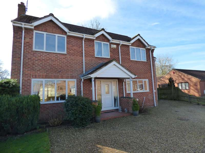 4 Bedrooms Detached House for sale in Hymers Close, Brandesburton, Driffield, YO25 8SQ