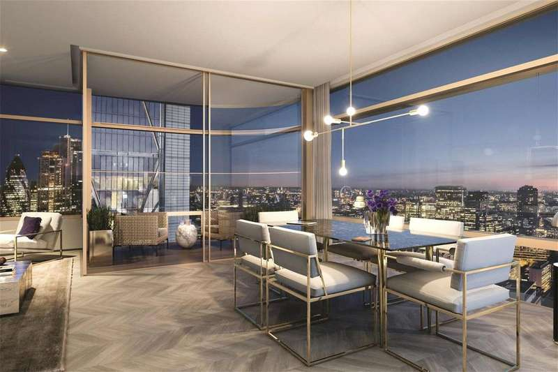 2 Bedrooms Flat for sale in Principal Tower, Shoreditch Highstreet, London