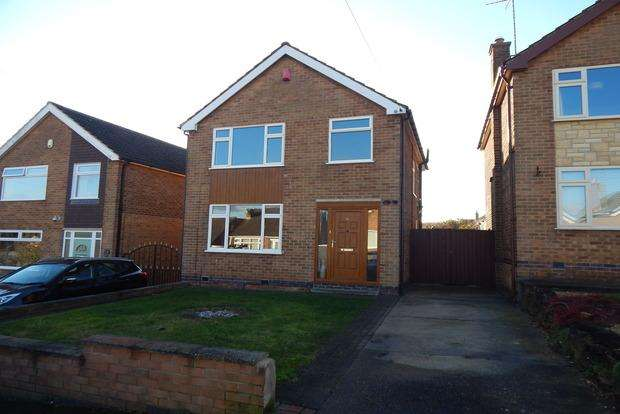 3 Bedrooms Detached House for sale in Harcourt Crescent, Nuthall, Nottingham, NG16