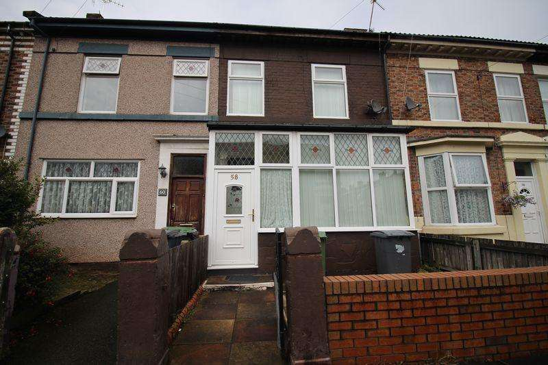 2 Bedrooms Terraced House for sale in Frodsham Street, Birkenhead