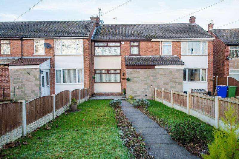 3 Bedrooms Town House for sale in Brookfield Ave, Runcorn.