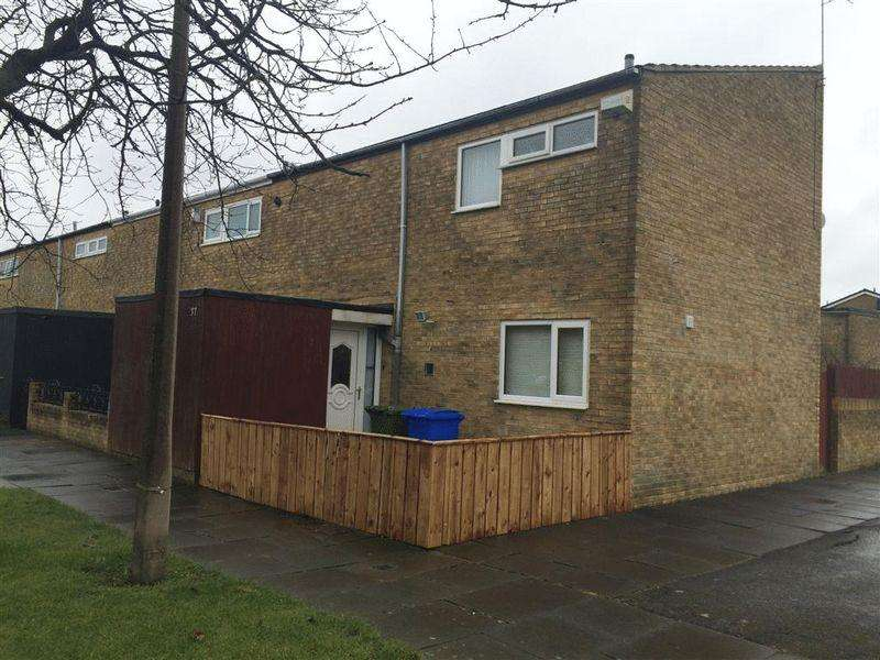 3 Bedrooms End Of Terrace House for sale in Ladykirk Way, Cramlington