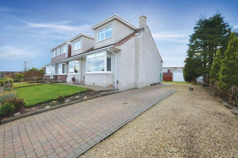 3 Bedrooms Semi Detached House for sale in 70 Drumlin Drive, Milngavie, G62 6NQ