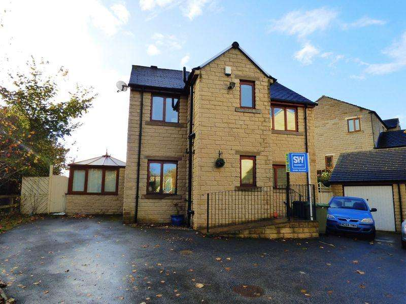 4 Bedrooms Detached House for sale in Thornfield Close, Huddersfield