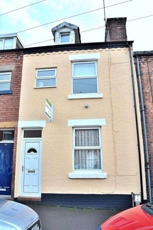 3 Bedrooms Terraced House for sale in Regent Street, Leek