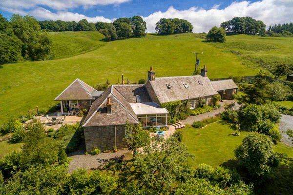 4 Bedrooms Detached House for sale in Nether Pitcastle, Pitlochry, Perthshire, PH16