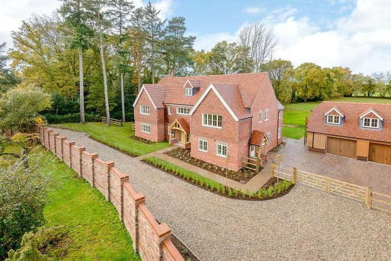 5 Bedrooms Detached House for sale in Harts Lane, Burghclere, Newbury, RG20