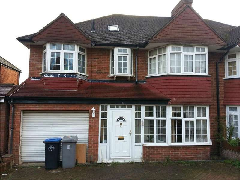 7 Bedrooms Semi Detached House for sale in Alington Crescent, Kingsbury, London
