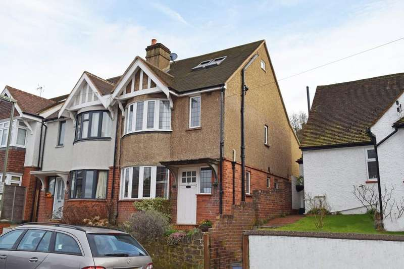 4 Bedrooms Semi Detached House for sale in Wodeland Avenue, Guildford GU2 4JZ