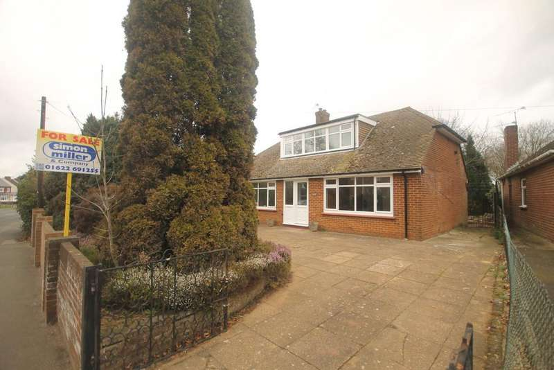 4 Bedrooms Detached Bungalow for sale in Sutton Road, Maidstone