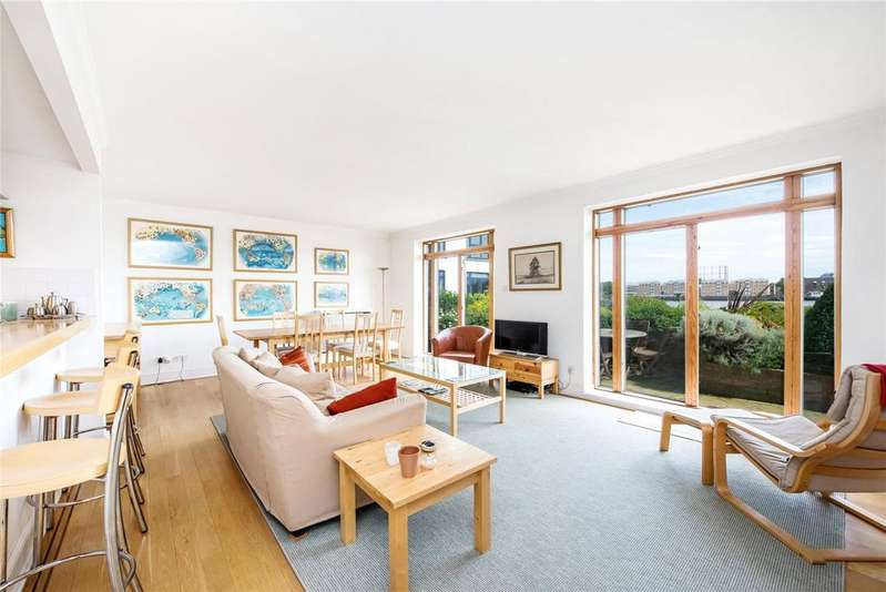 3 Bedrooms Apartment Flat for sale in St Hilda's Wharf, 160 Wapping High Street, London, E1W