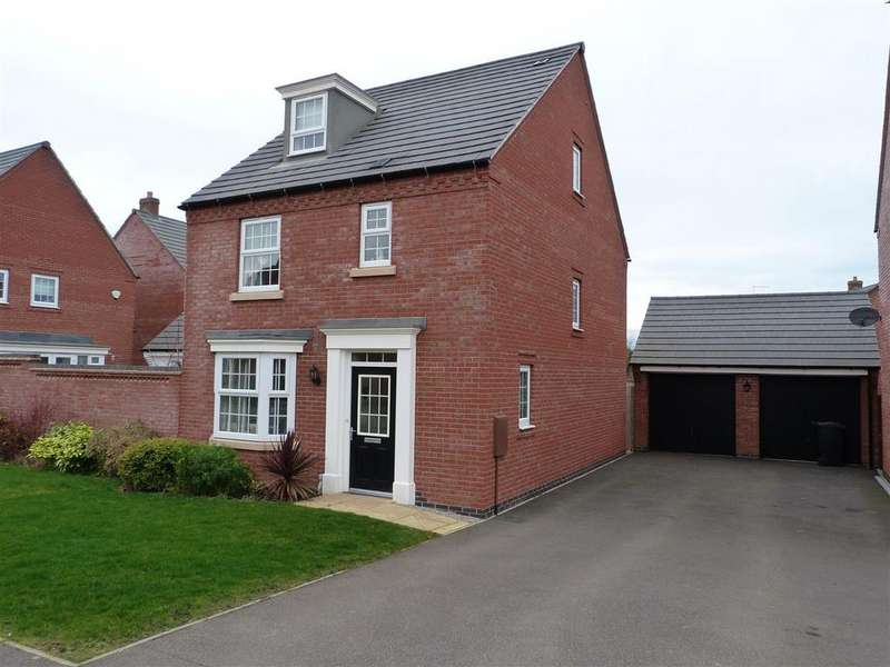 4 Bedrooms Detached House for sale in Angell Drive, Market Harborough
