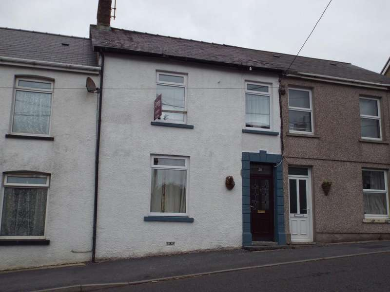 3 Bedrooms Terraced House for sale in Heol Y Bryn, Tumble, Llanelli, Carmarthenshire