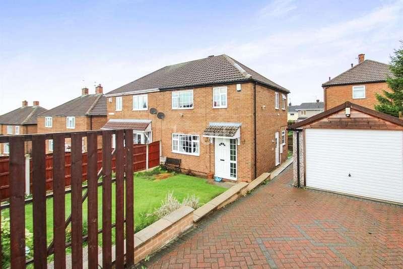3 Bedrooms Semi Detached House for sale in Bernard Road, Edlington