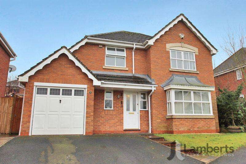 4 Bedrooms Detached House for sale in Badger Brook Lane, Astwood Bank.