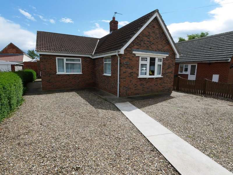 2 Bedrooms Detached Bungalow for sale in High Street Eastrington