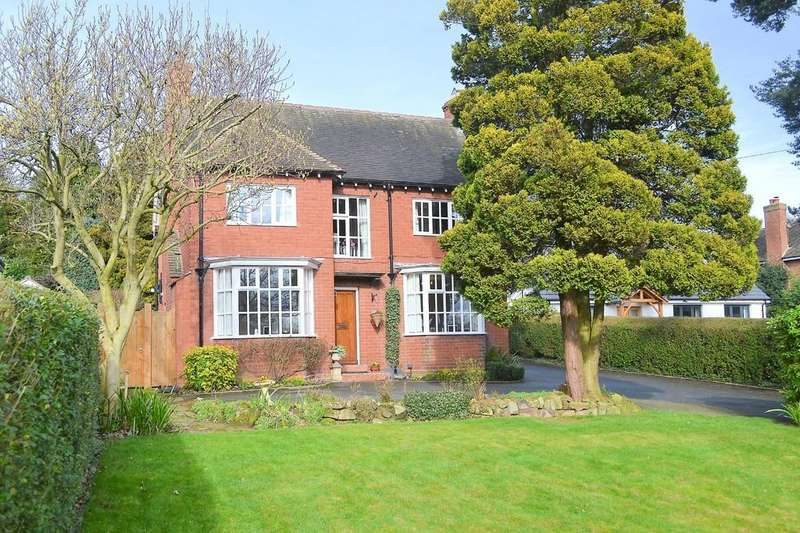 4 Bedrooms Detached House for sale in Tamworth Road, Lichfield