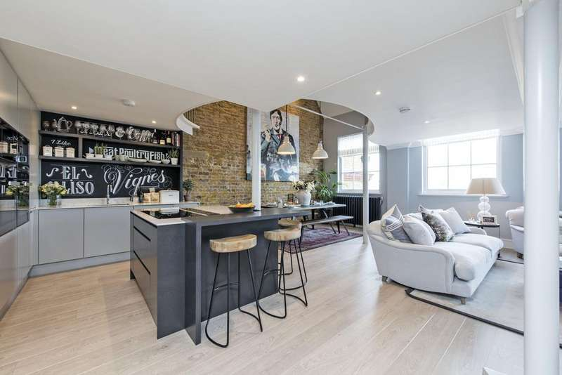 2 Bedrooms Flat for sale in Burns Road, SW11