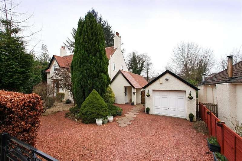 4 Bedrooms Detached House for sale in Fernleigh Road, Glasgow, Lanarkshire
