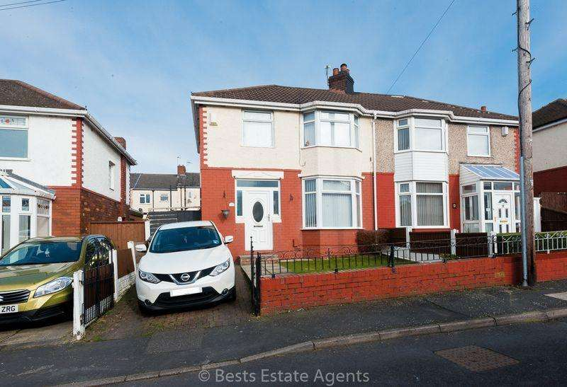 3 Bedrooms Semi Detached House for sale in Claremont Road, Runcorn