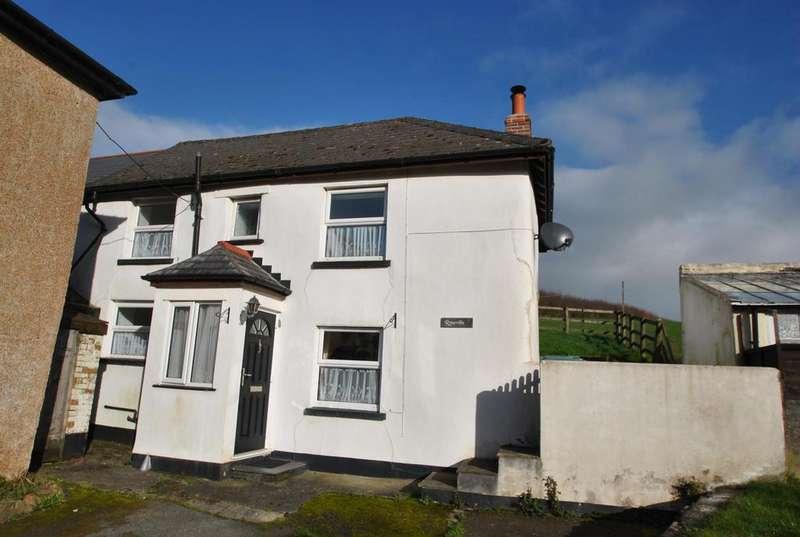 2 Bedrooms Semi Detached House for sale in Bridgerule, Holsworthy
