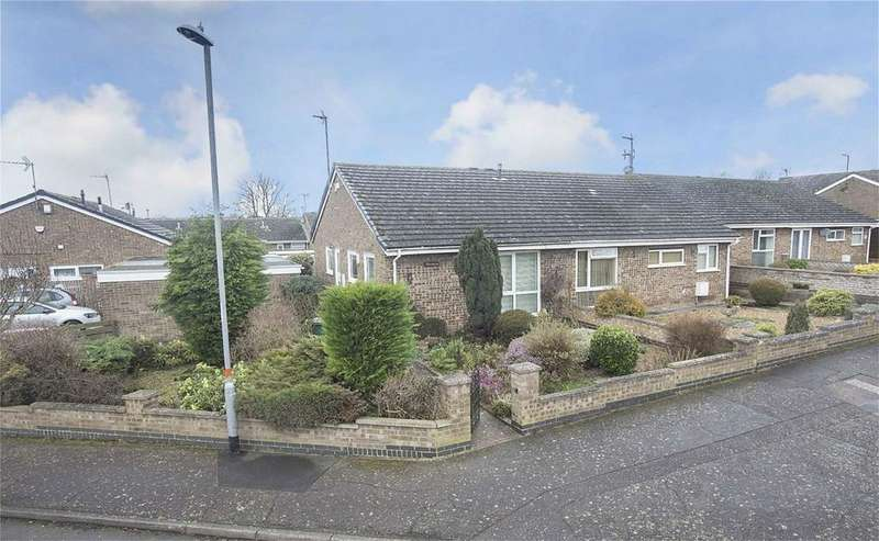 3 Bedrooms Semi Detached Bungalow for sale in Monks Way, Corby, Northamptonshire