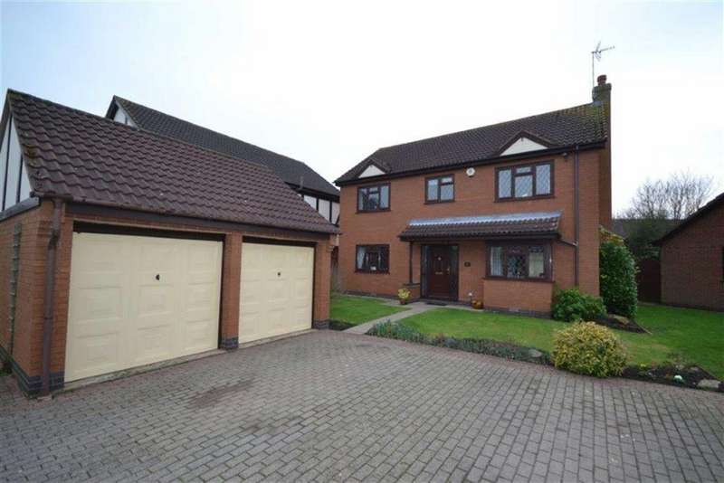 4 Bedrooms Detached House for sale in Norwich Close, St Nicolas Park, Nuneaton