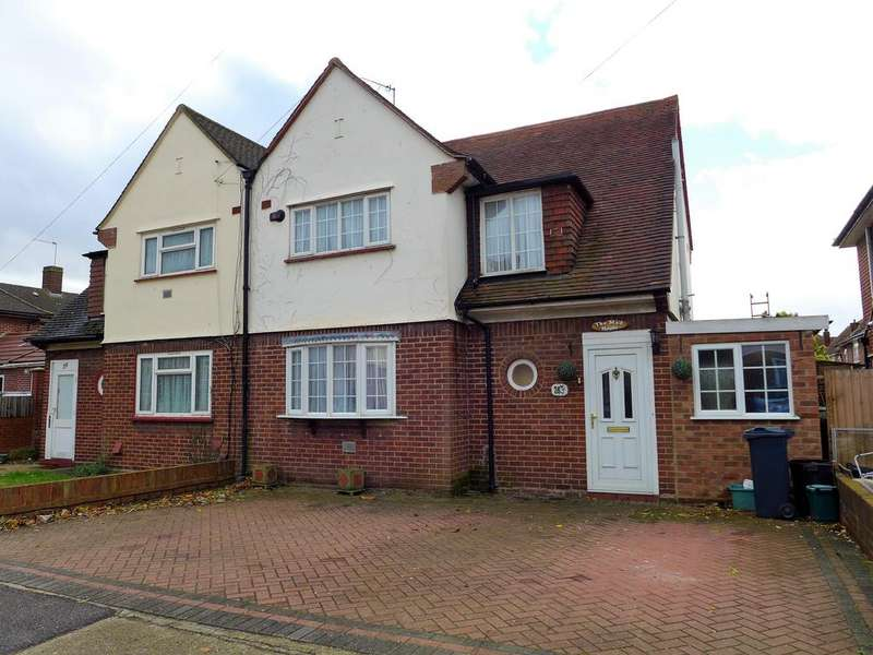 3 Bedrooms Semi Detached House for sale in Southville Road, Feltham
