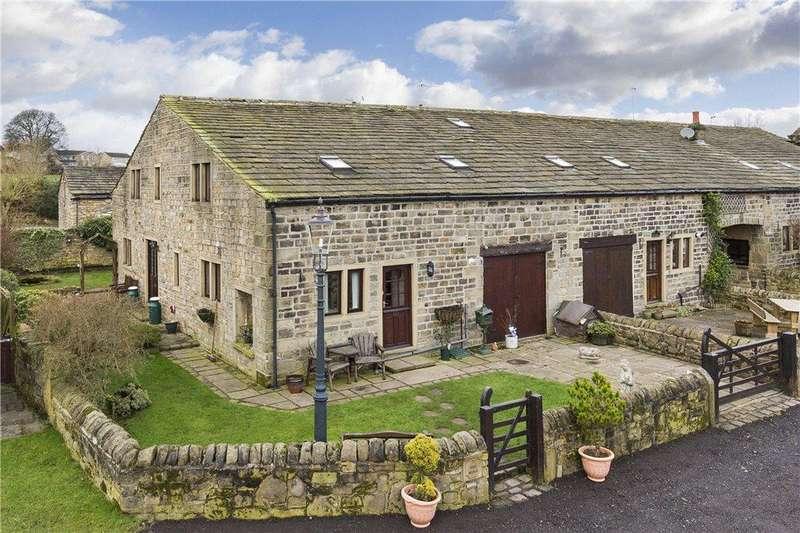 4 Bedrooms Barn Conversion Character Property for sale in The Barn, Hallas Hall Farm, Hallas Lane, Cullingworth