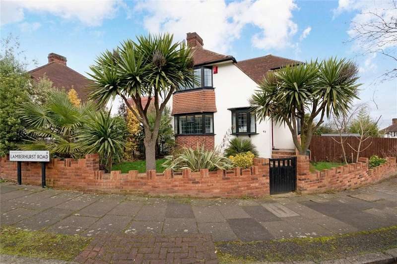 3 Bedrooms Semi Detached House for sale in Lamberhurst Road, West Norwood, London, SE27