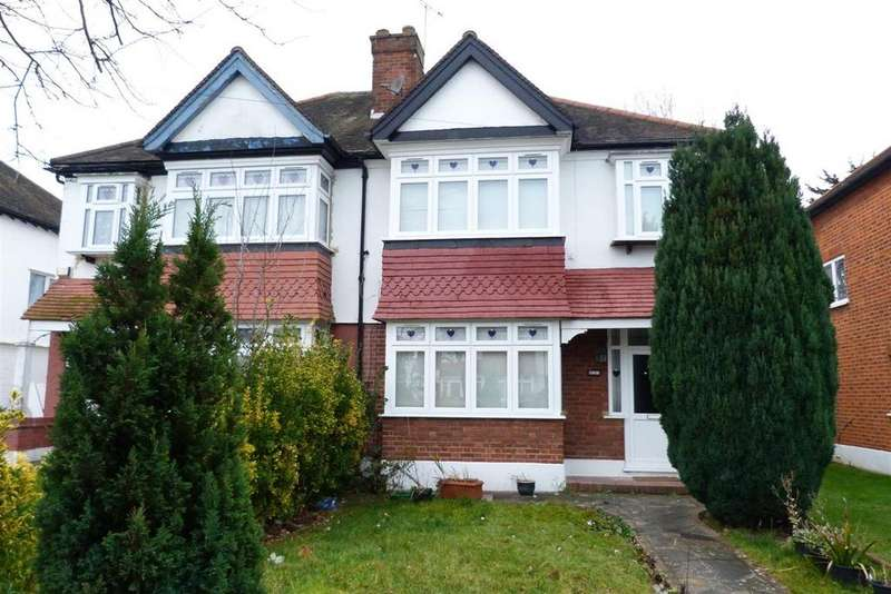 3 Bedrooms Semi Detached House for sale in The Fairway, North Wembley, Middlesex