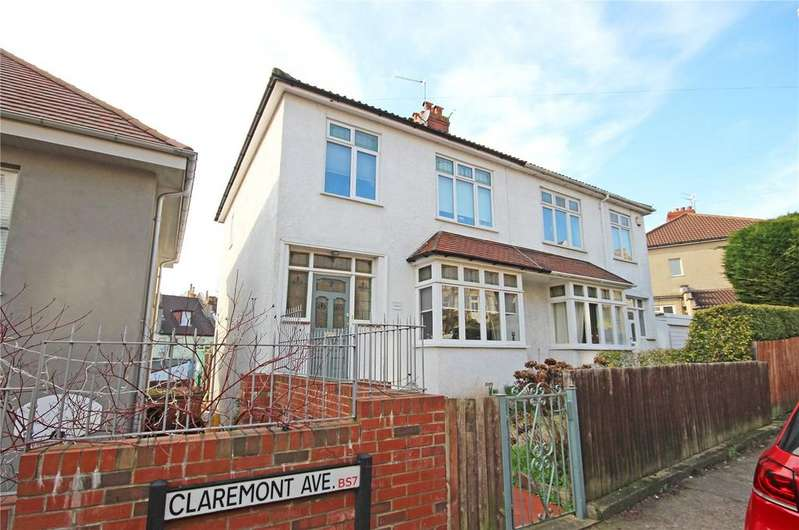 3 Bedrooms Semi Detached House for sale in Claremont Avenue, Bishopston, Bristol, BS7