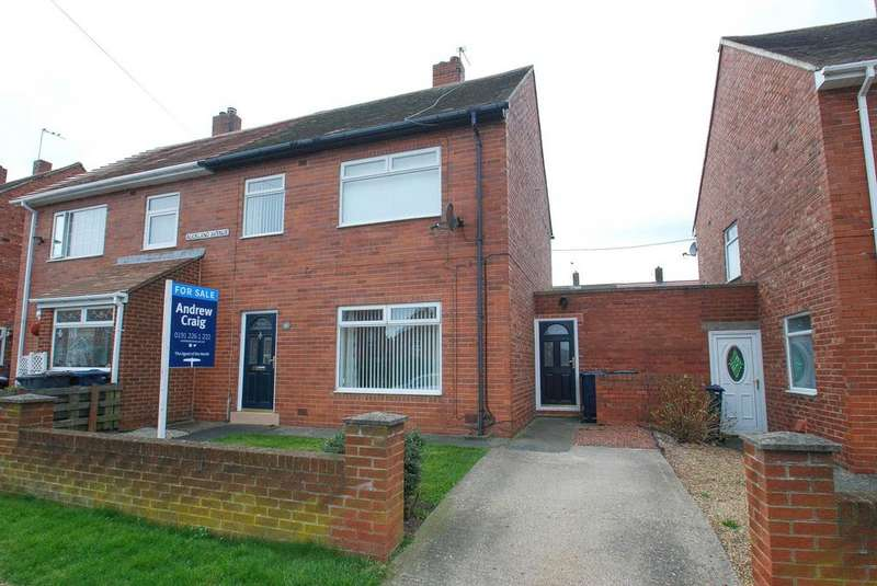 3 Bedrooms Semi Detached House for sale in Auckland Avenue, South Shields