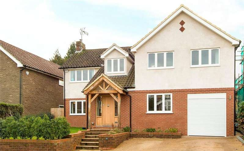 5 Bedrooms Detached House for sale in Townsend Lane, Harpenden, Hertfordshire, AL5