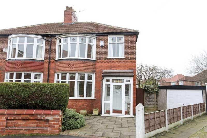 3 Bedrooms Semi Detached House for sale in Shortland Crescent, Burnage, Manchester