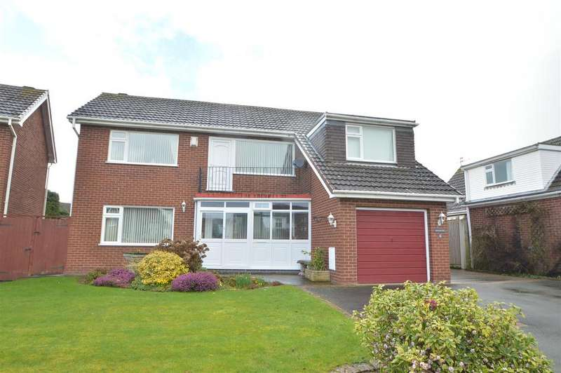 4 Bedrooms Detached House for sale in 8 Larkhill Road, Copthorne, Shrewsbury, SY3 8XS