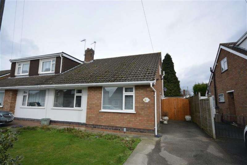 2 Bedrooms Semi Detached Bungalow for sale in Villa Crescent, Bulkington