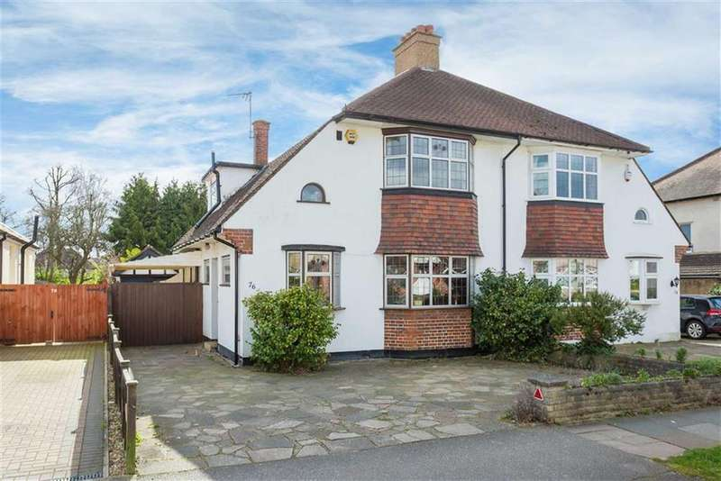 3 Bedrooms Semi Detached House for sale in North View, Pinner, Middlesex