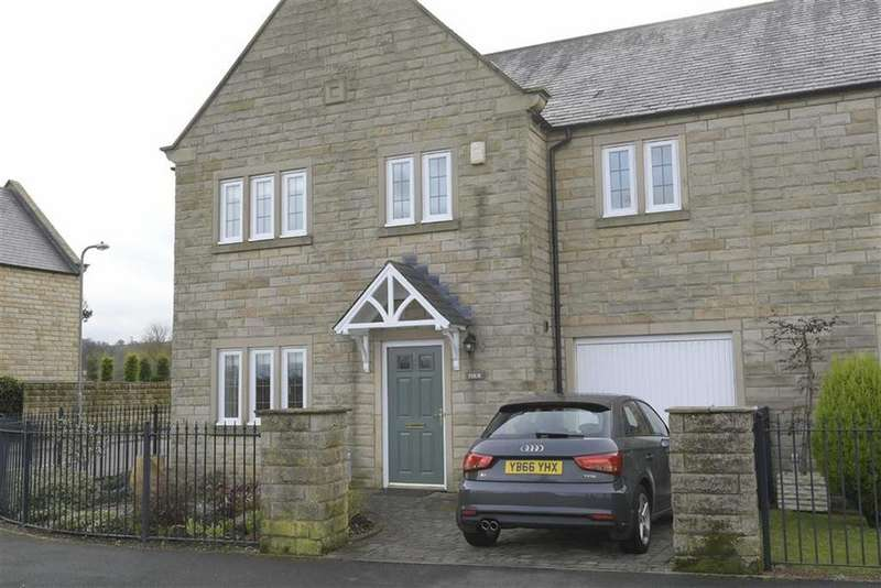 4 Bedrooms Semi Detached House for sale in St Thomas A Becket Walk, Hampsthwaite, North Yorkshire