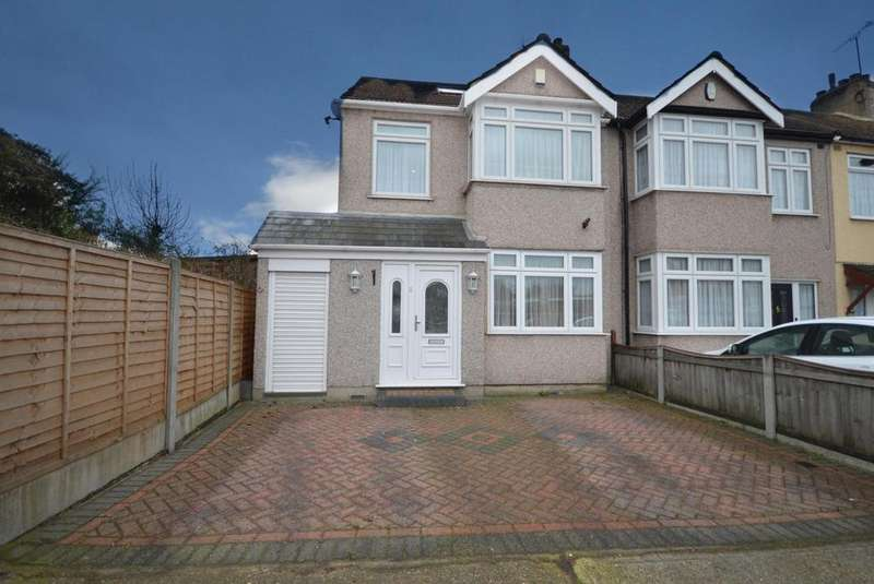 3 Bedrooms Semi Detached House for sale in Stanley Road South, Rainham, Essex, RM13
