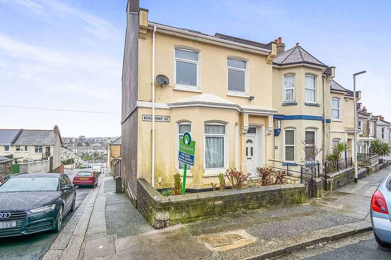 5 Bedrooms Semi Detached House for sale in Beaumont Street, Milehouse, Plymouth, PL2