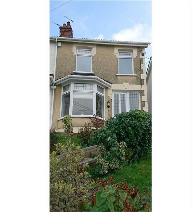 2 Bedrooms Semi Detached House for sale in Highland Terrace, Swansea, SA4