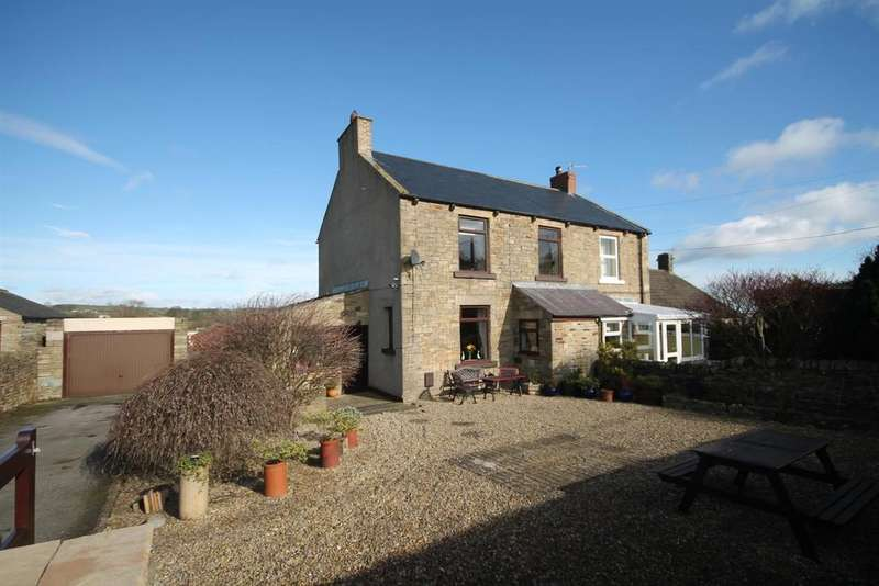 3 Bedrooms Semi Detached House for sale in Copley Lane, Butterknowle, Bishop Auckland