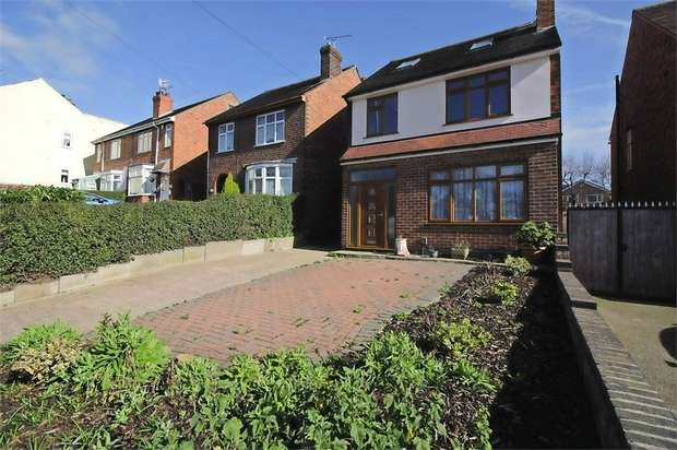 4 Bedrooms Detached House for sale in Nottingham Road, Eastwood, Nottingham
