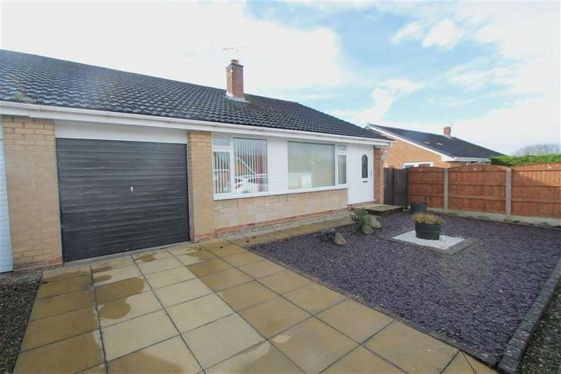 3 Bedrooms Semi Detached Bungalow for sale in Ffordd Cynan, Borras, Wrexham