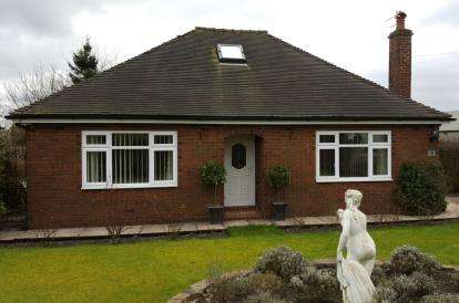 3 Bedrooms Bungalow for sale in Long Lane, Harriseahead, Stoke-On-Trent, Staffordshire