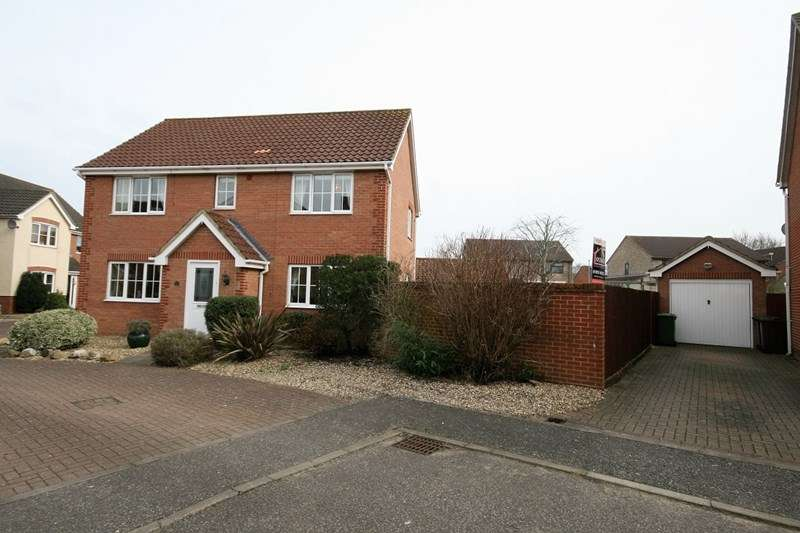 4 Bedrooms Detached House for sale in Varrick Way, Attleborough