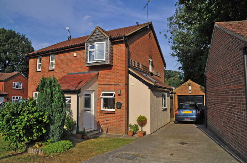 2 Bedrooms Semi Detached House for sale in Buttermere, White Court, Braintree, CM77